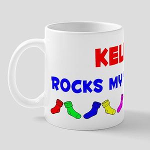 Kellen Rocks Socks (A) Mug