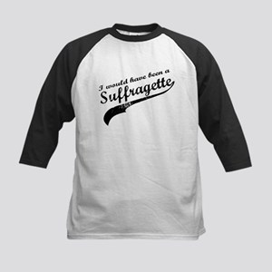 Suffragette Kids Baseball Jersey