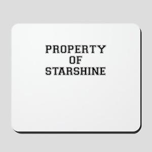 Property of STARSHINE Mousepad