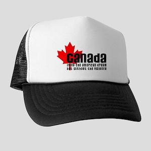 Canada & The American Dream Trucker Hat