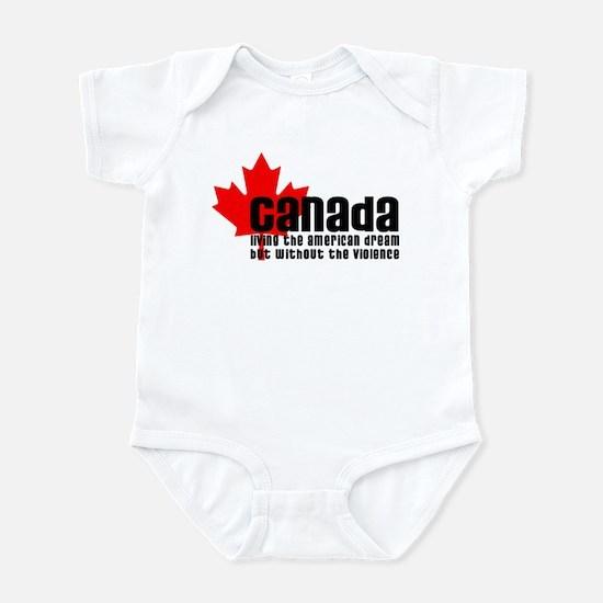 Canada & The American Dream Infant Bodysuit