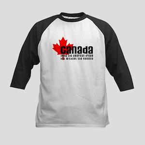 Canada & The American Dream Kids Baseball Jersey
