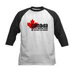 Canada & The American Dream Kids Baseball Jersey