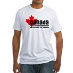 Canada & The American Dream Fitted T-Shirt