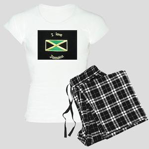 I Love Jamaica pajamas