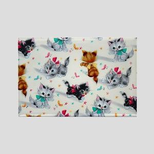 Cute Playful Kittens Magnets