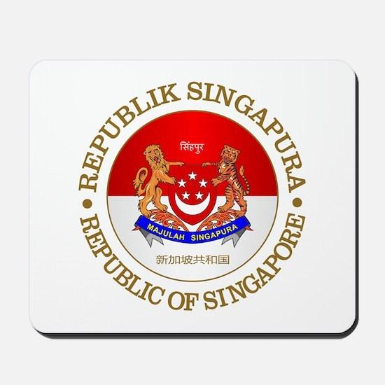 Singapore (rd) Mousepad