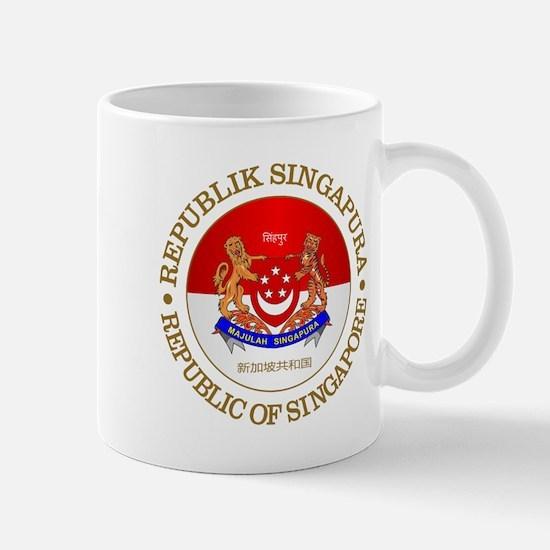 Singapore (rd) Mugs