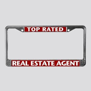 TOP RATED (Burgundy Red) License Plate Frame