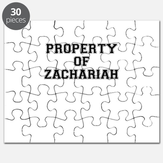 Property of ZACHARIAH Puzzle