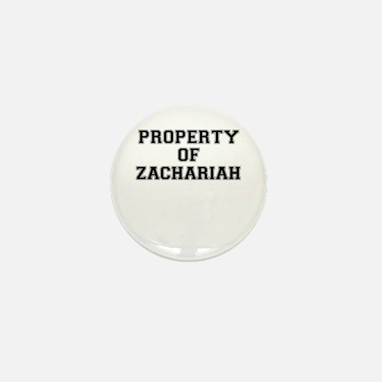 Property of ZACHARIAH Mini Button