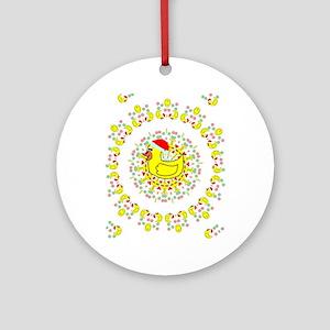 duckie Ornament (Round)