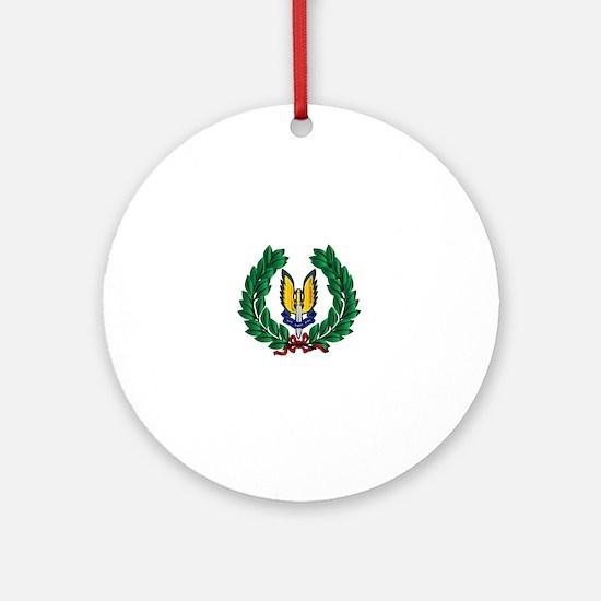 Cute Sas Round Ornament