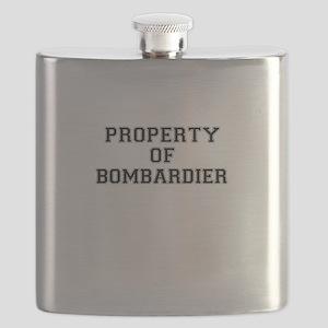 Property of BOMBARDIER Flask
