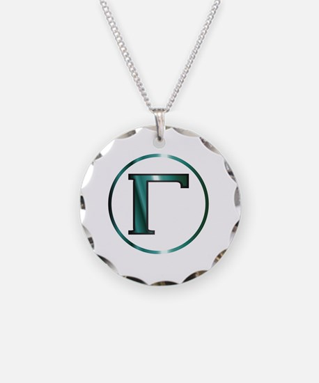 Greek letters Necklace