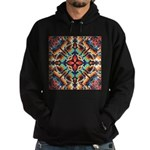 Ornate Geometric Colors Hoodie