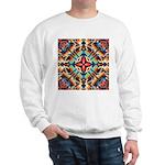 Ornate Geometric Colors Sweatshirt