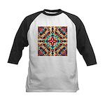 Ornate Geometric Colors Baseball Jersey