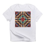 Ornate Geometric Colors Infant T-Shirt