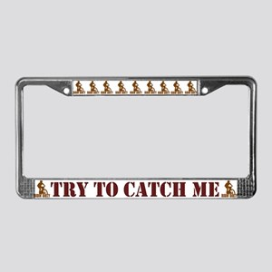 Ridin' Dirty! License Plate Frame