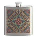 Ornate Geometric Colors Flask