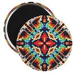 Ornate Geometric Colors Magnets