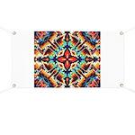 Ornate Geometric Colors Banner