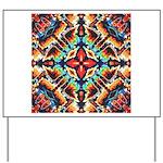 Ornate Geometric Colors Yard Sign