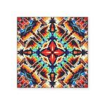 Ornate Geometric Colors Sticker