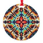 Ornate Geometric Colors Ornament