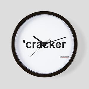BTR: 'cracker Wall Clock