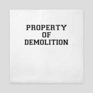 Property of DEMOLITION Queen Duvet