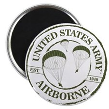 Army Airborne Magnets