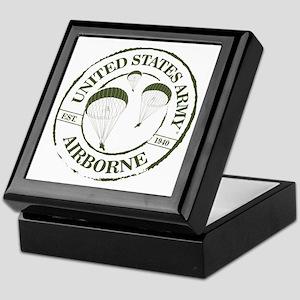 Army Airborne Keepsake Box