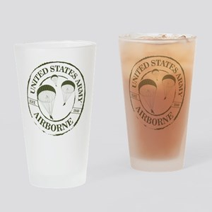 Army Airborne Drinking Glass