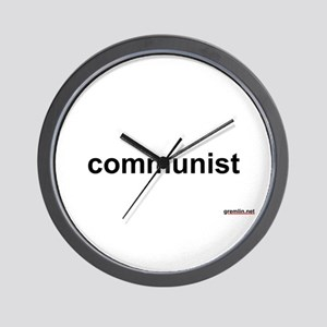 BTR: communist Wall Clock