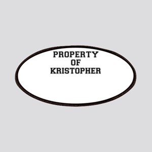Property of KRISTOPHER Patch