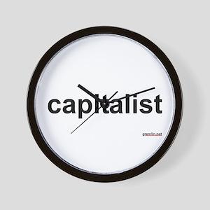 BTR: capitalist Wall Clock