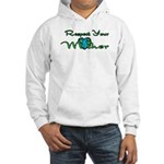 Respect Your Mother Earth Hooded Sweatshirt