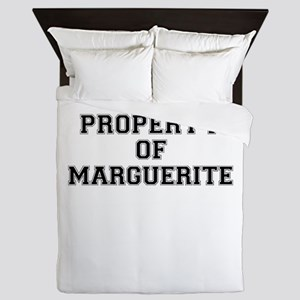 Property of MARGUERITE Queen Duvet