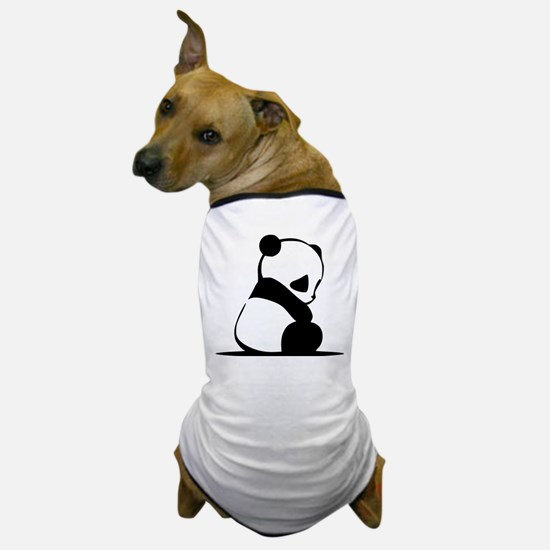 Sad Baby Panda Dog T-Shirt