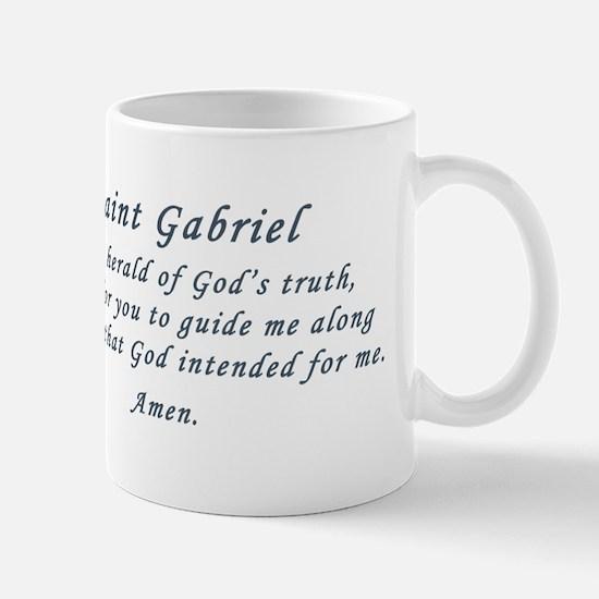 Saint Gabriel the Archangel Large Mugs
