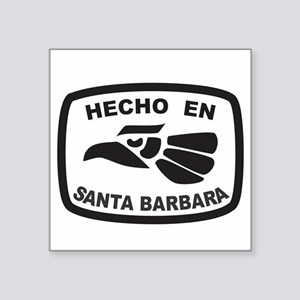 Hecho En Mexico Tattoo Square Stickers Cafepress