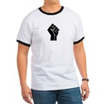 Revolution Anarchy Power Fist Ringer T