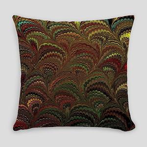 Bright Wild Rainbow Everyday Pillow