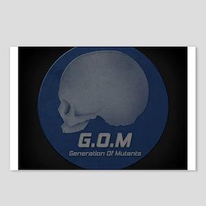 Generation Of Mutants Emblem Postcards (Package of