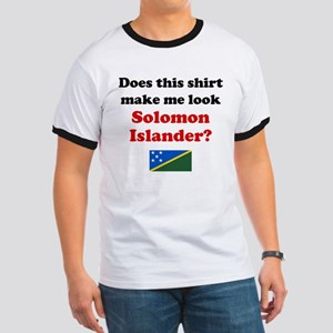Make Me Look Solomon Islander Ringer T