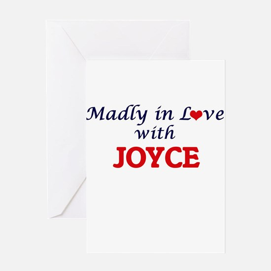 Madly in love with Joyce Greeting Cards