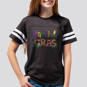Argyle Mardi Gras Youth Football Shirt