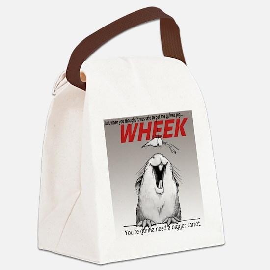 Cute Guinea pig Canvas Lunch Bag